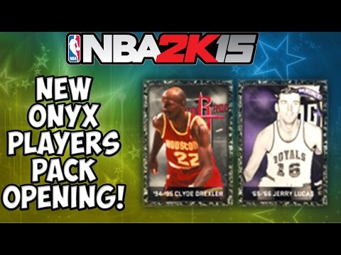 NBA 2K15 MyTeam - New Onyx Clyde Drexler and Jerry Lucas - Onyx Streak Continues!