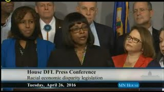 GOP Out Of Touch On Racial Disparities say MN Democrats -Full News Conference