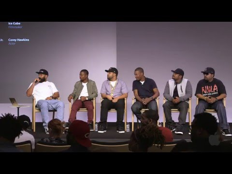 Straight Outta Compton Cast Interview with Ice Cube, O'Shea Jackson, Jason Mitchell, Corey Hawkins