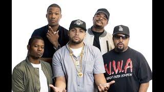 Straight Outta Compton Cast Interview with Ice Cube, O'Shea Jackson, Jason Mitchell, Corey Hawkins