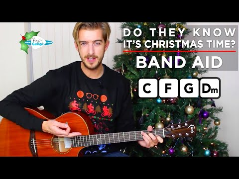Do They Know It's Christmas? Band Aid - Easy Christmas Songs On Guitar