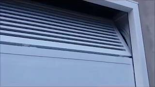 Portão seccionado instalado em boituva sp, pela empresa Martins Portões