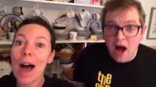 Olivia Colman and Miles Jupp bonus clip! Choir with No Name
