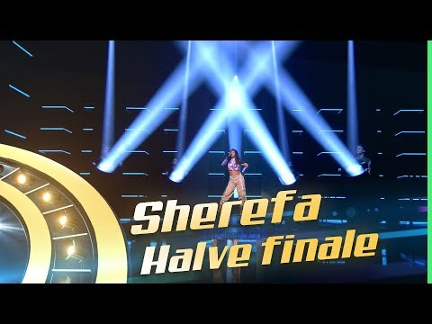 I Wanna Dance With Somebody - Whitney Houston Cover By: Sherefa  HALVE FINALE