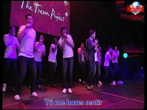 Darren Criss ft. Katy Perry perform Teenage Dream at Trevor Live - Sub Spanish
