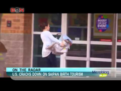 U.S. cracks down on Saipan birth tourism - Microblog Buzz - September 17,2013 - BONTV China