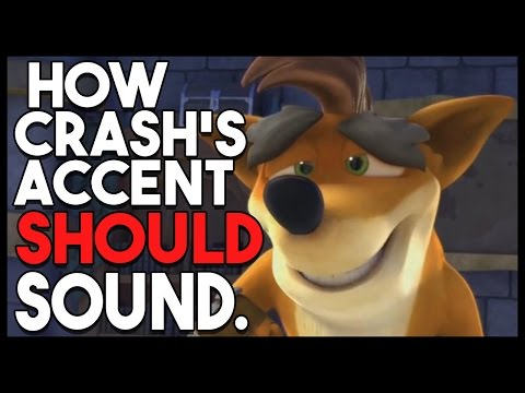 How Crash Bandicoot's Accent Should Sound in Skylanders Academy - Munkii