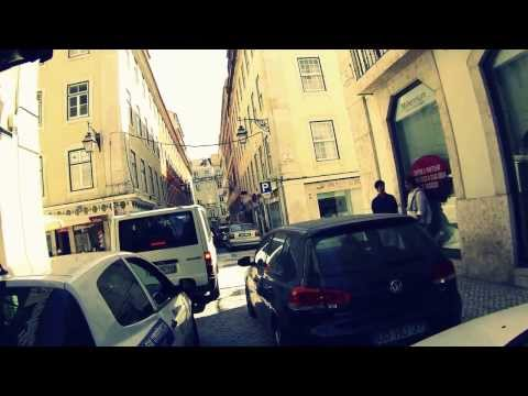 Lisbon by scooter - going home.
