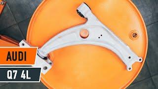 Achteras Rubbers monteren AUDI Q7 (4L): gratis video