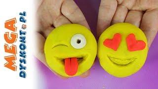 Emotki Film • Jak zrobić Emoji z ciastoliny? • DIY • Play Doh • Kreatywne zabawy