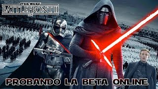 Star Wars Battlefront 2 Online PC Gameplay de la Beta | Un gran juego