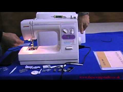 Janome 40 Sewing Machine Review YouTube Delectable Janome 525s Sewing Machine Review