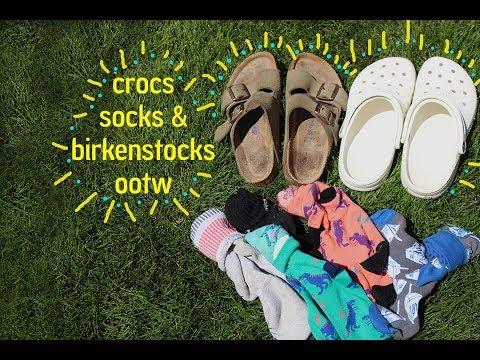 crocs,socks & birkenstocks
