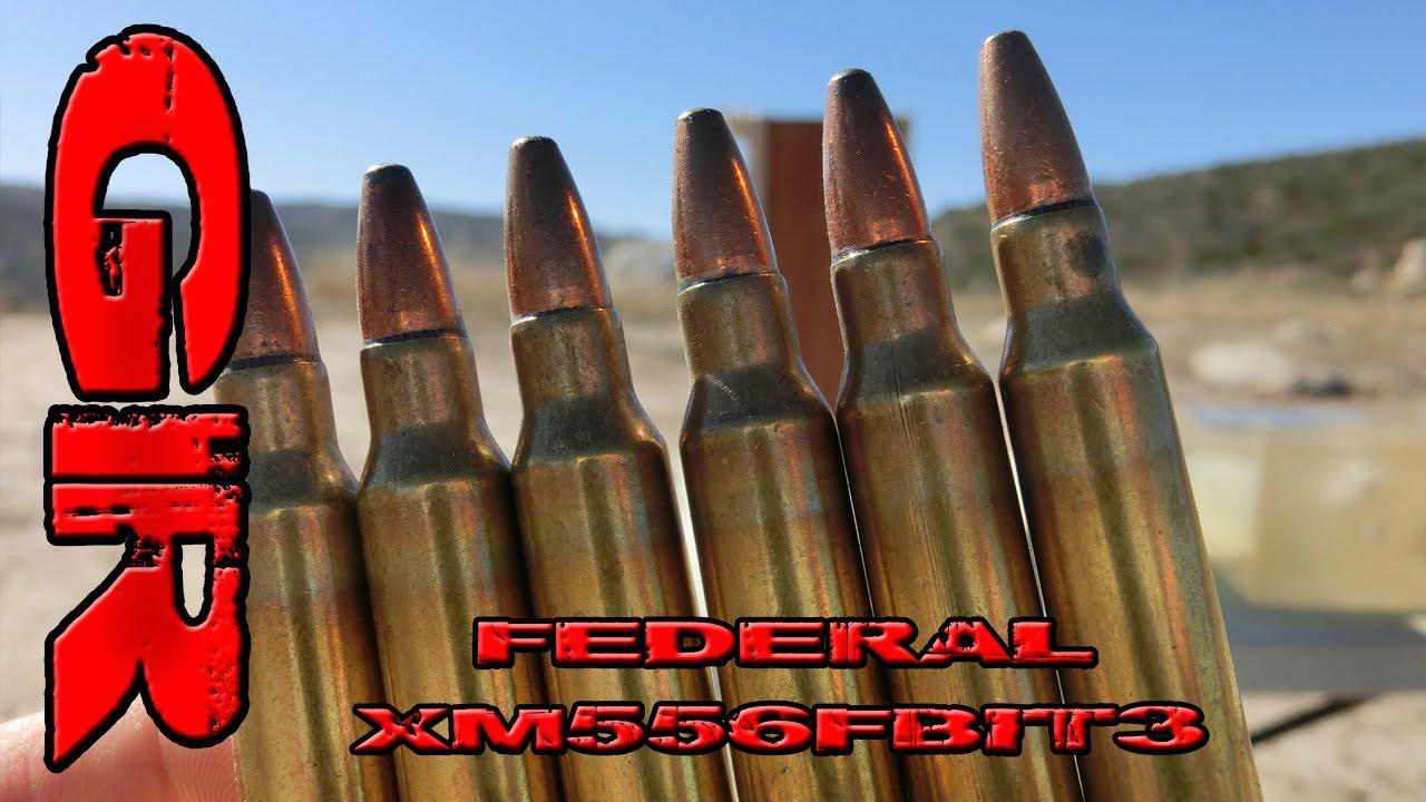 Best AR Ammo Pt 6 - Federal XM556FBIT3 by Gun Runnerz
