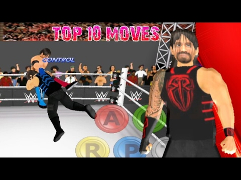 Top 10 Moves of Roman Reigns | WR3D