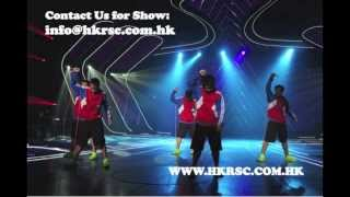 "R.S.C.特技空翻跳繩表演隊 ""Rocket Stunt Crew"" acrobatic jumping performance"