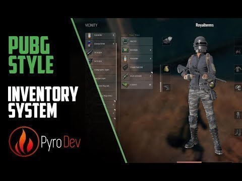 Unreal Engine 4 - PUBG style Inventory #1