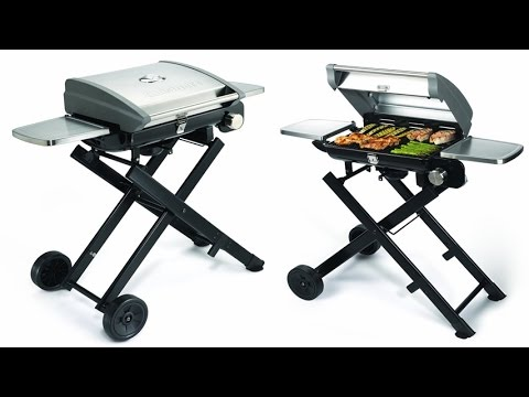Superieur Cuisinart CGG 240 All Foods Roll Away Gas Grill   Portable Gas Grill For  Backyard, Campground, Etc.   YouTube