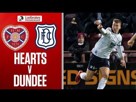 Hearts 1-2 Dundee   Dundee Move off Bottom Spot!   Ladbrokes Premiership