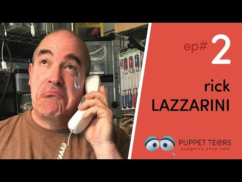 Puppet Tears, ep.002 — Rick Lazzarini, animatronics legend + puppeteer on 'Aliens' and 'Space Balls'