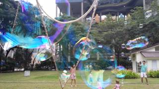 cj bubble girl giant bubbles with tri string junior loop