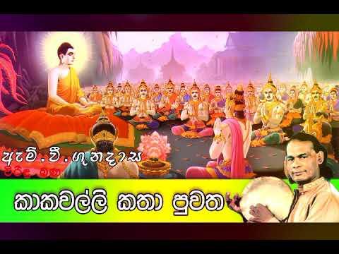 Kaka Walli Katha Puwatha | කාකවල්ලි කතා පුවත | Viridu Bana | M V Gunadasa thumbnail