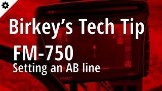 Yeni bir AB çizgisi Ayarı Birkey Teknoloji İpucu: FM-750