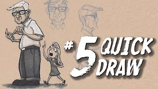 Quick Draw #5 Absent Minded Gramps by Gabe Dunston
