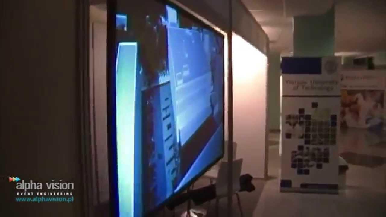 Bardzo dobryFantastyczny Ekran holograficzny (HoloGlass) + projektor FullHD 6500ANSI - YouTube IO55