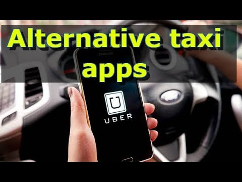 THE UBER BAN  - alternative taxi hailing apps