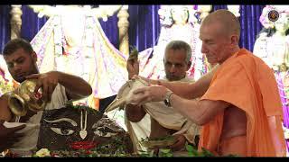 Govardhan Puja Festival held in Sri Dhama Mayapur on Nov.8, 2018. 4K Video.