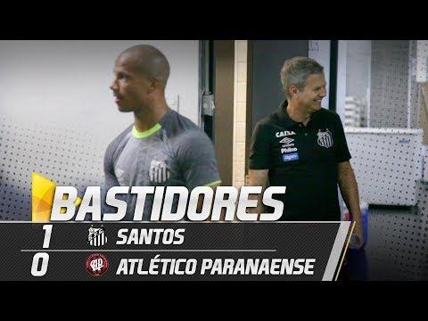 Santos 1 x 0 Atlético Paranaense | BASTIDORES | Brasileirão (30/09/18)