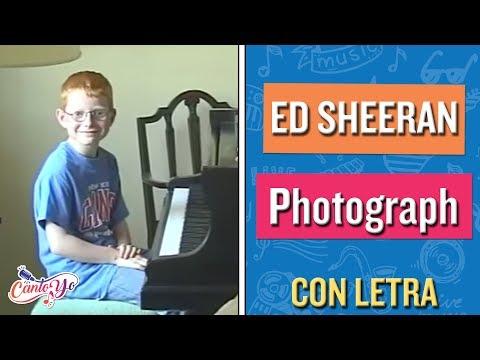 Ed Sheeran - Photograph (Karaoke) | CantoYo