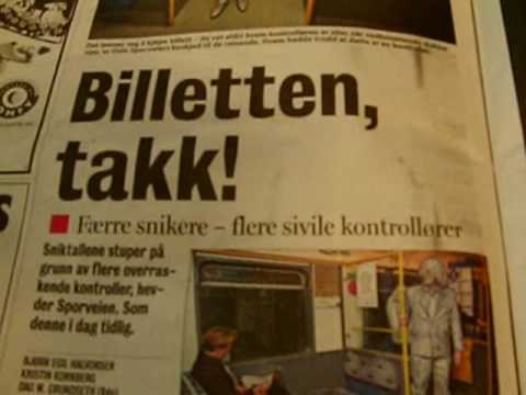 The Finnish had Norwegian media propaganda about ticket inspector to fool public in Norway