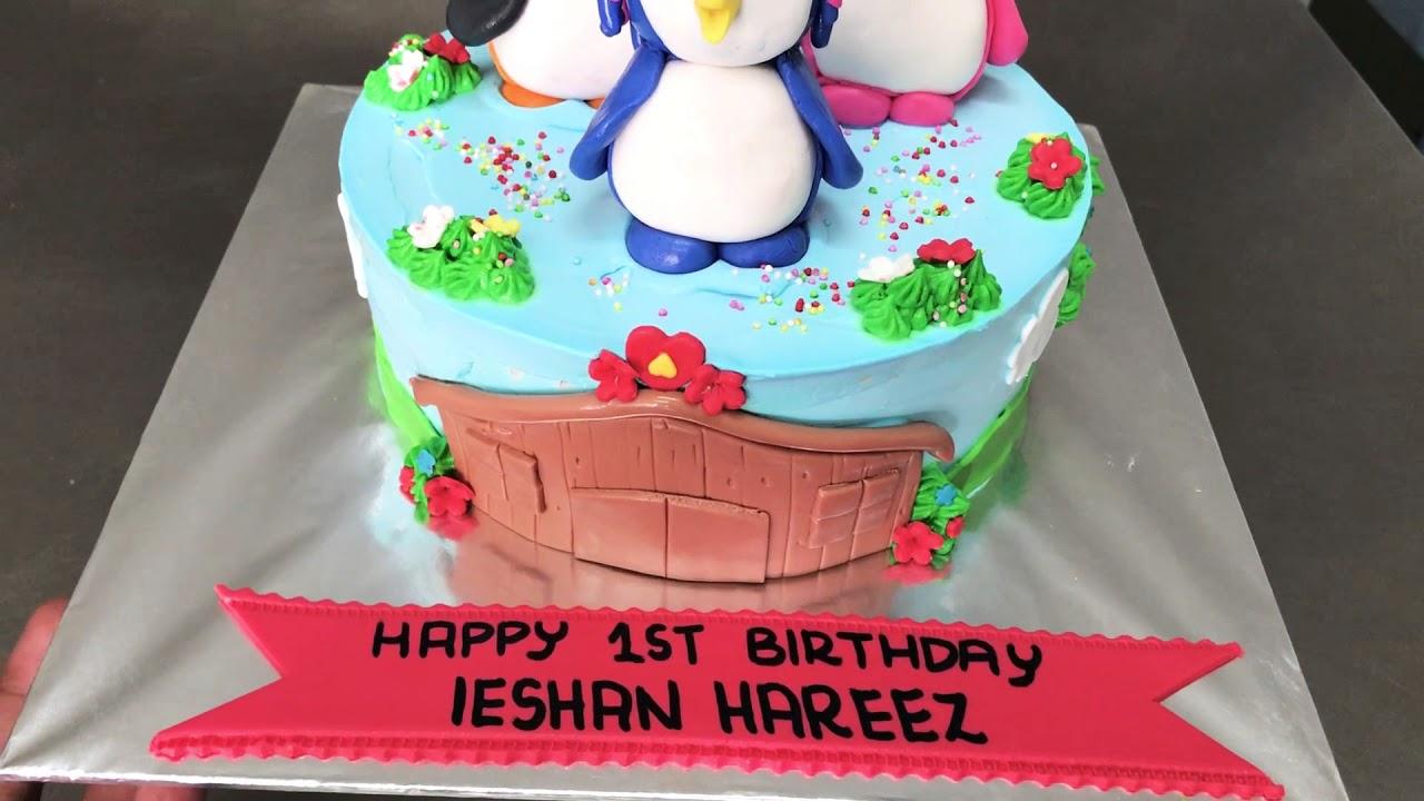 Badanamu Birthday Cake By Mini Patisserie Kuching Youtube