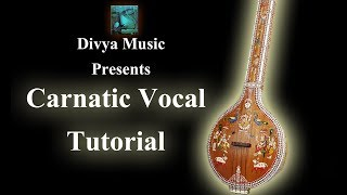 Learn how to sing Carnatic vocal music online lessons Kannada Telugu Tamil Sanskrit Malyalam Hindi