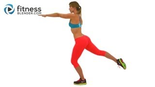 Butt and Abs Tabata Workout - Fat Blasting Cardio Interval Workout