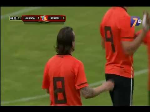 Mexico vs Holanda 4-2  Semifinal Torneo Esperanzas de Toulón 2012