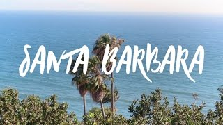 California Travel: Santa Barbara Beach