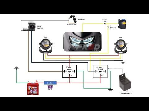 Mini Driving Lights Wiring Diagram W, Driving Light Wiring Diagram
