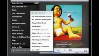 Squeezebox + iPad = SqueezePad (Deutsch)