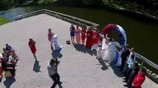 Свадебный клип съемка с воздуха