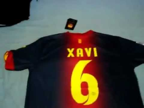 FC Barcelona 2012 - 2013 Player Edition Jersey - Unboxing