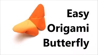 Easy Origami Butterfly - Origami Tutorial for Beginners | Craft Haven
