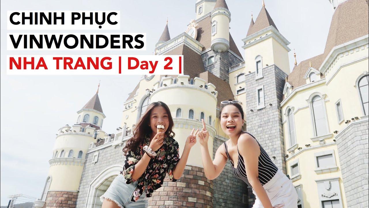 SongThuVlog: ĐU DÂY ZIPLINE - CHƠI MÁNG TRƯỢT  CHINH PHỤC VINWONDERS (Nha Trang Trip Day 2)