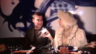 Cognacscorner Toy Interview Restaurant Loris Diran and Heidi Albertsen