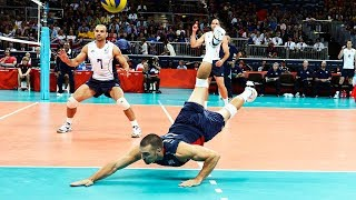 TOP 20 Moments Legendary Defense  in Recent Volleyball History