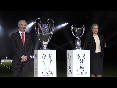 Champions League Trophy Arrives In Wales - Interview With Ian Rush