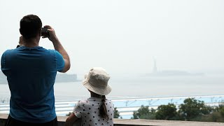 West Coast Wildfire Smoke Makes Its Way to NYC; Air Quality Historically Low