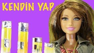 Barbie | Barbie Bebekleri için Makyaj Temizleme Suyu Yapımı | EvcilikTV